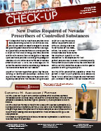 The Healthcare Professionals Legal Check-up - Issue 7