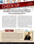 The Healthcare Professionals Legal Check-up - Issue 2