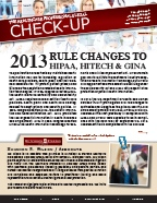 The Healthcare Professionals Legal Check-up - Issue 3