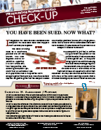 The Healthcare Professionals Legal Check-up - Issue 8