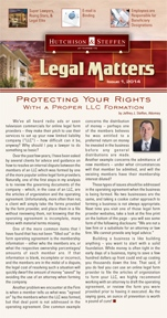 Legal Matters - Summer 2014