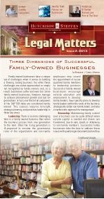 Legal Matters - Winter 2013