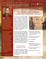 Trust & Probate Litigation Navigator - Issue 1
