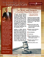 Trust & Probate Litigation Navigator - Issue 11
