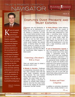 Trust & Probate Litigation Navigator - Issue 2