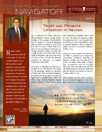 Trust & Probate Litigation Navigator - Issue 6