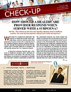 The Healthcare Professionals Legal Check-up - Issue 5
