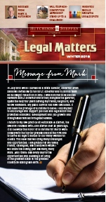 Legal Matters - Winter 2019