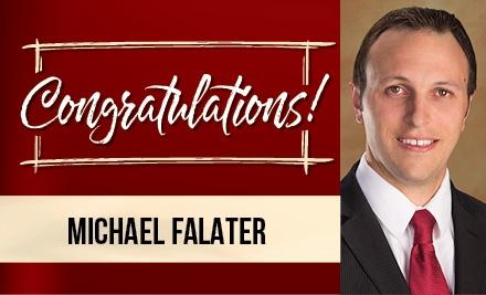 Congrats, Michael!
