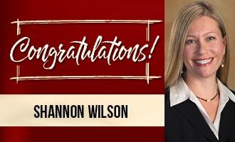 Congrats, Shannon!